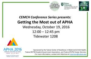 get-the-most-out-of-apha-2016-flyer