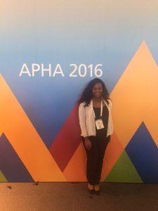 Bejan Foretia at APHA