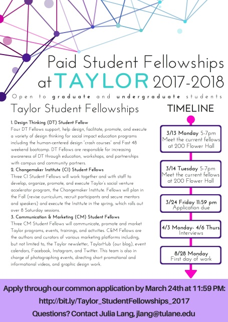 taylorstudentfellowships